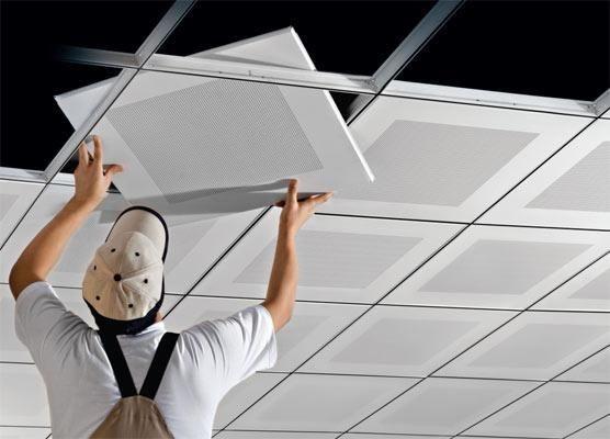 افزایش امنیت ساختمان با کف کاذب و سقف کاذب