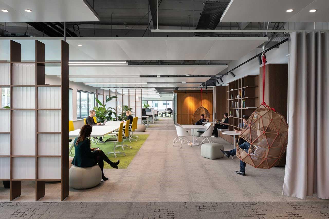 فضاهای استراحت در دفاتر